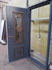 Входная дверь Коттедж вариант 27