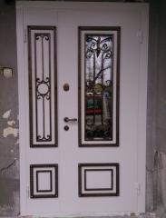 Входная дверь Коттедж вариант 32