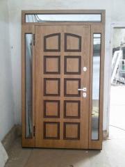 Входная дверь Коттедж вариант 33