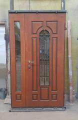 Входная дверь Коттедж вариант 34