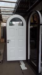 Входная дверь Коттедж вариант 35