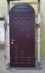 Входная дверь Коттедж вариант 38