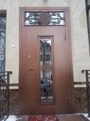 Входная дверь Коттедж вариант 40