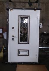 Входная дверь Коттедж вариант 43