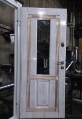 Входная дверь Коттедж вариант 46