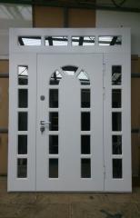 Входная дверь Коттедж вариант 50