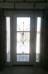 Входная дверь Коттедж вариант 52