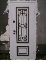 Входная дверь Коттедж вариант 60