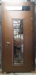 Входная дверь Коттедж вариант 61