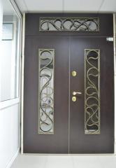 Входная дверь Коттедж вариант 65