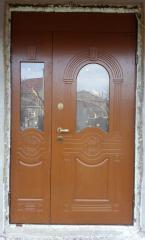 Входная дверь Коттедж вариант 66