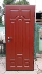 Входная дверь Коттедж вариант 74