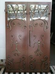 Входная дверь Коттедж вариант 75