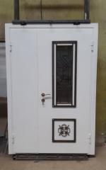 Входная дверь Коттедж вариант 76