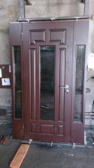 Входная дверь Коттедж вариант 80