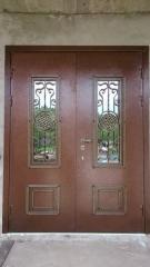 Входная дверь Коттедж вариант 81