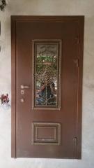 Входная дверь Коттедж вариант 82