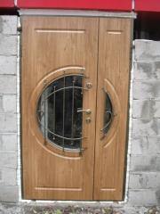 Входная дверь Коттедж вариант 88