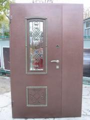 Входная дверь Коттедж вариант 91