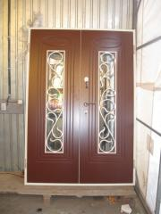 Входная дверь Коттедж вариант 92