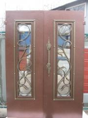 Входная дверь Коттедж вариант 93