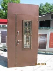 Входная дверь Коттедж вариант 94