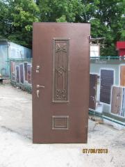 Входная дверь Коттедж вариант 95