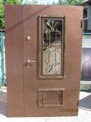 Входная дверь Коттедж вариант 96