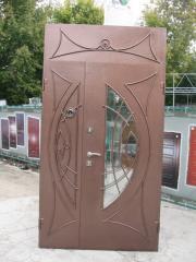 Входная дверь Коттедж вариант 97
