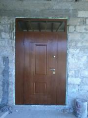 Входная дверь Коттедж вариант 98
