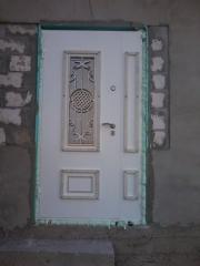 Входная дверь Коттедж вариант 100