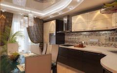 Мебель для кухни, вариант 12