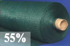 Сетка затеняющая, 55% затенения