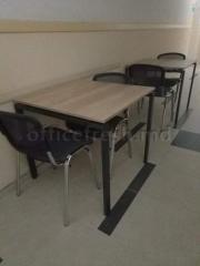 Переговорный стол на металлокаркасе