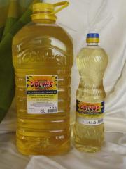 """Sunflower oil deodorized """"Colvas"""