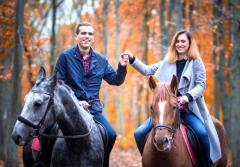 Подарочная карта Романтическая прогулка на лошадях