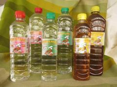 The COLVAS VINEGAR - 0,5 l. 4%-6%-9%-Essention 70%