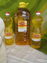 "Sunflower oil not refined ""Colvas"