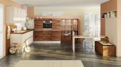 Кухня LANA Amerikanischer Nussbaum | DALINA camee