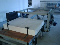 Line for the production of sandwich panels