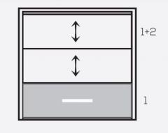 Оконная система Панорама панели 1+2