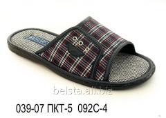 Мужские тапочки 039-07 ПКТ-5 092С-4