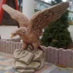 Орёл на скале