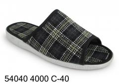 Men's slippers - slippers № 54040 4000 С-40