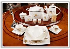 Посуда - столовый сервиз Golden Rings/Vesela de la