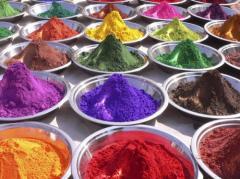 Натуральные и идентичные натуральным пищевые красители