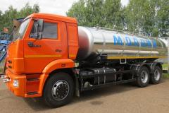 Tank trucks for transportation of food liquids