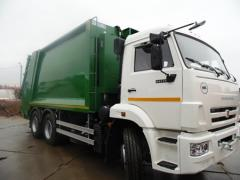 Waste trucks