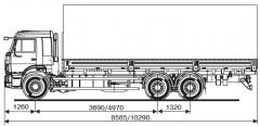 Бортовой автомобиль KAMAZ-65117-23 (А4)