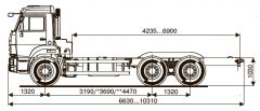 Шасси Kamaz-65115-48 (а5)